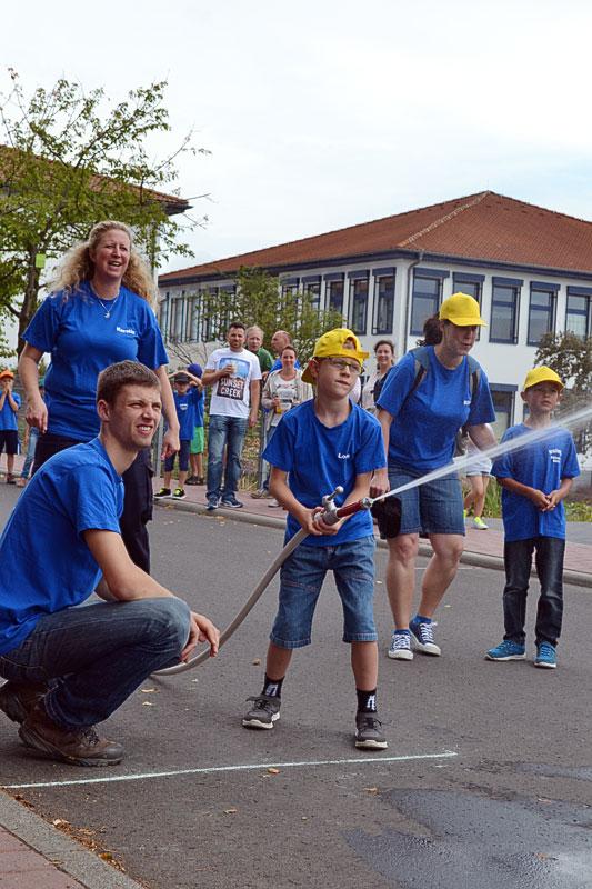 Drachenkids schneiden gut ab beim Kinderfeuerwehrtag in Görsroth