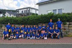 Drachenkids Heidenrod beim Kinderfeuerwehrtag in Hünstetten