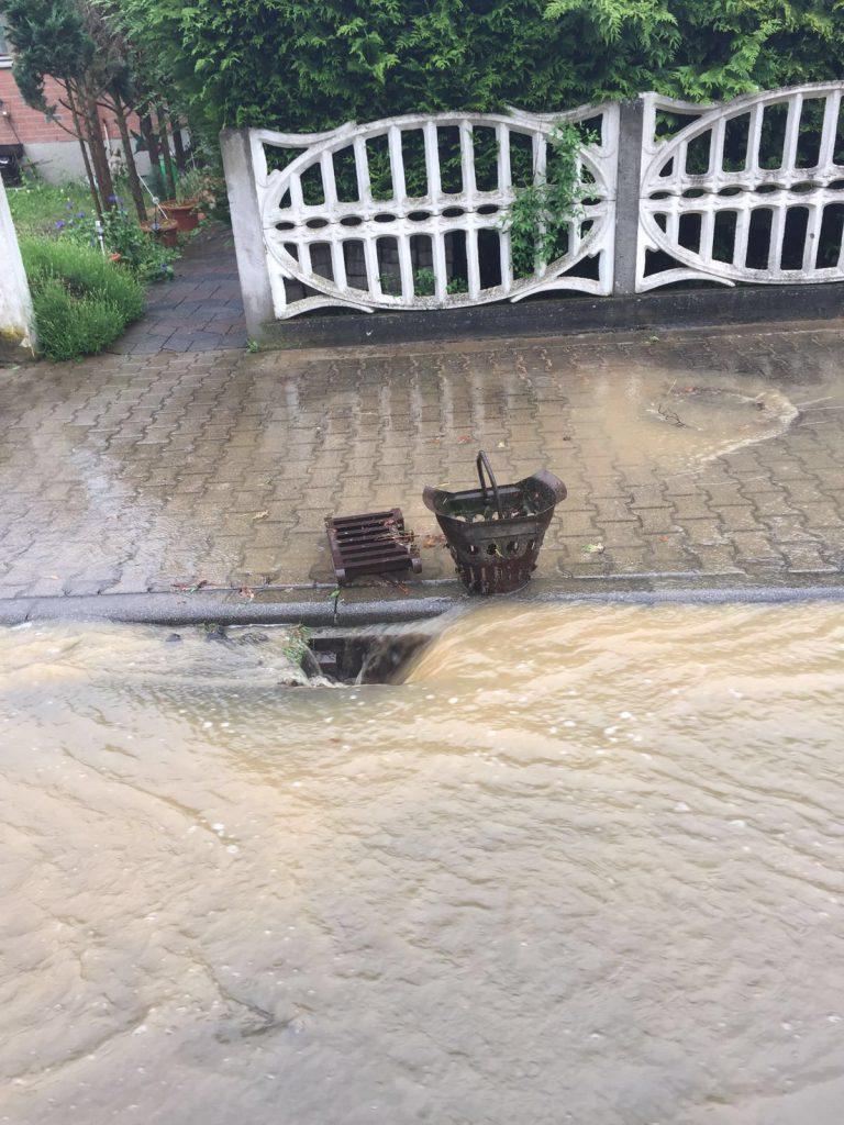 Unwetter in Heidenrod: Vollgelaufener Keller eines Wohnhauses