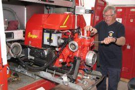 Heidenroder Gerätewart ist mit 80 ältester Feuerwehrmann Hessens