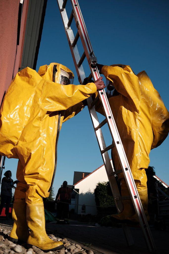 Jährliche Einsatzübung für unsere CSA-Träger