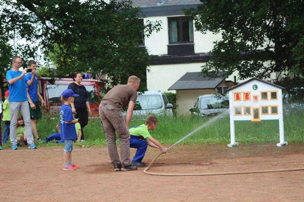 Drachenkids Heidenrod erzielen 2. Platz beim Kinderfeuerwehrtag in Kemel