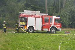 Alarmübung der Feuerwehren Kemel und Ramschied