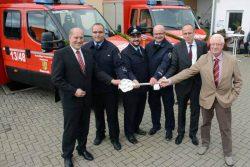 Feuerwehren in Nauroth und Zorn erhalten neue Fahrzeuge - Wert des Ehrenamts betont