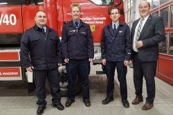 Feuerwehr Kemel mit neuer alter Wehrführung