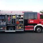 Feuerwehr Kemel nimmt neues Staffellöschfahrzeug in Empfang