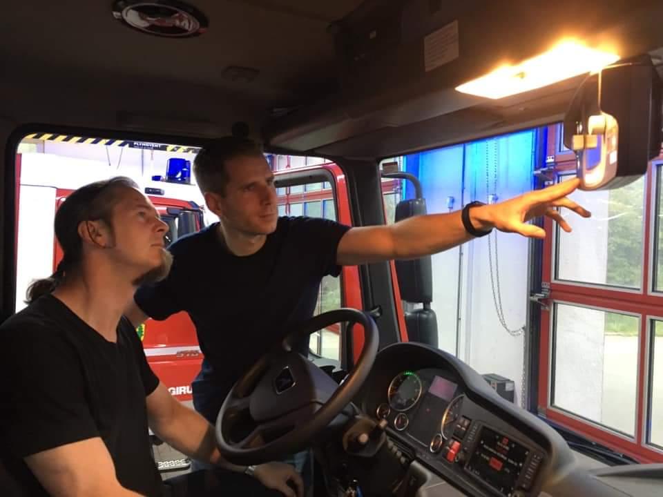 Ortsbeirat zu Besuch bei der Freiwilligen Feuerwehr Kemel