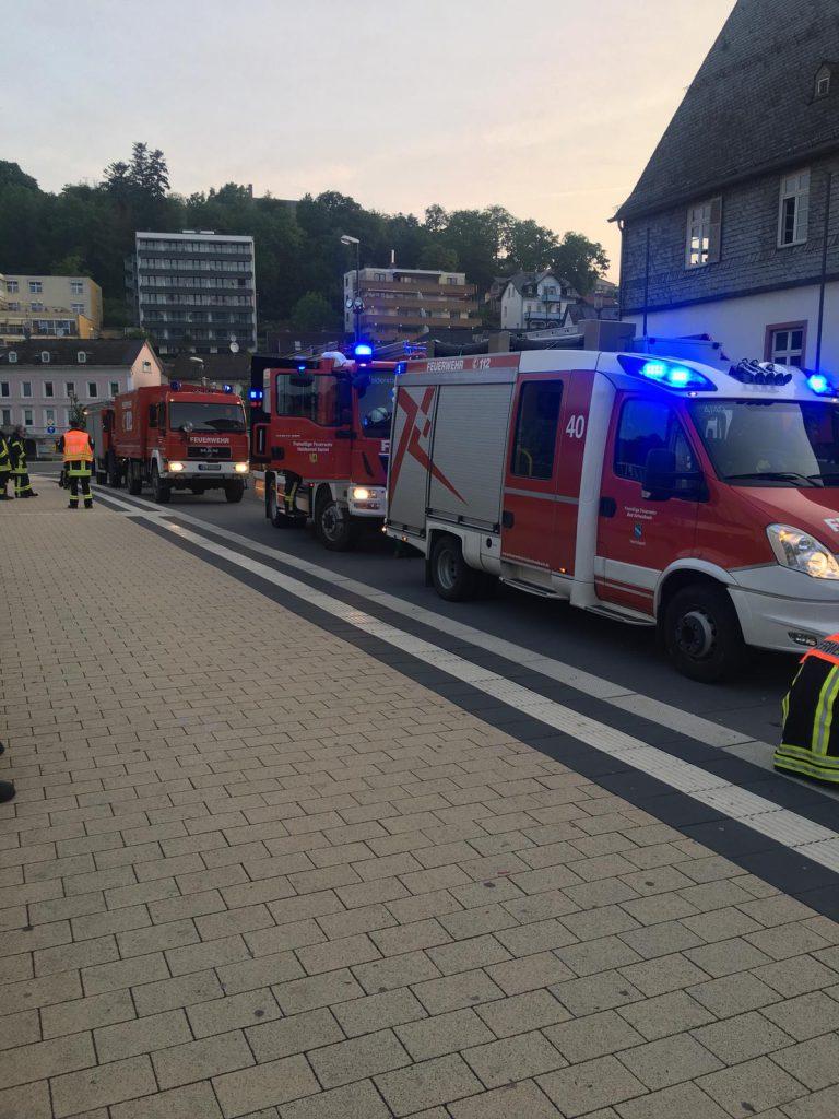 Unwettereinsatz in Bad Schwalbach