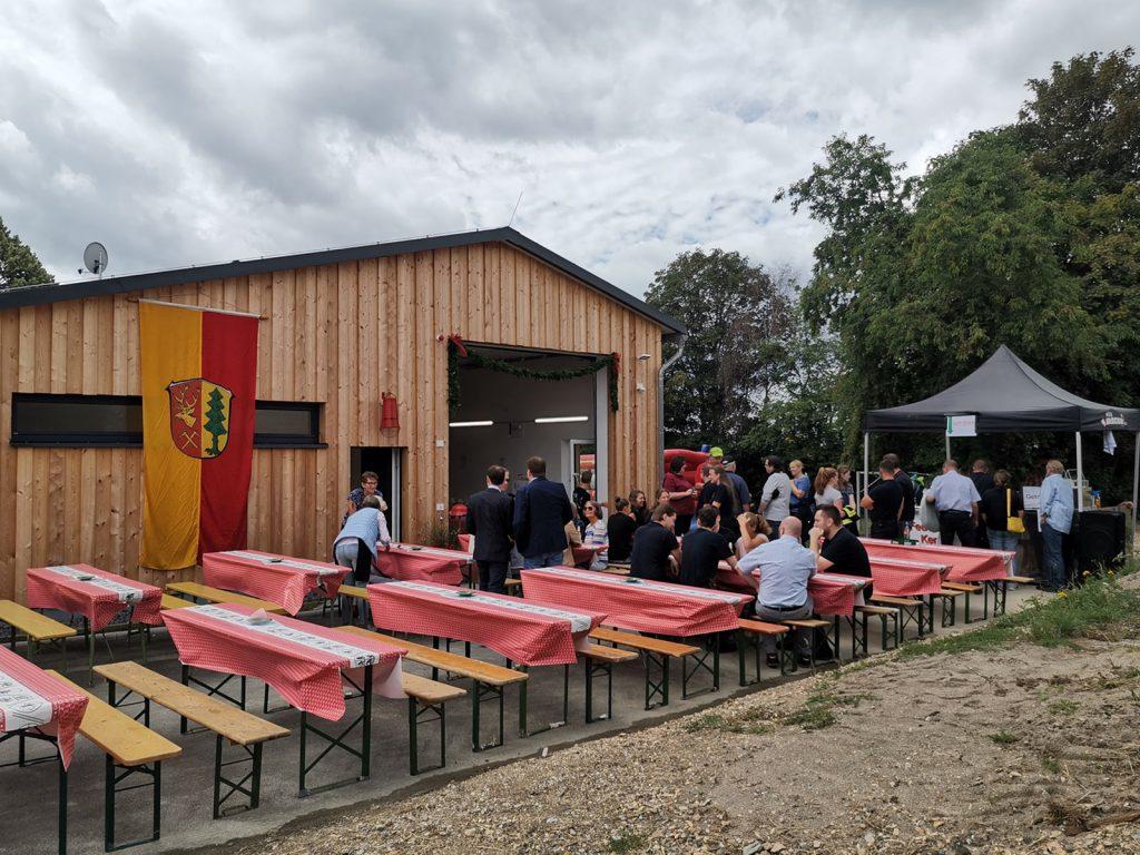 Feuerwehr ist Bürgersache - Einweihung des Gerätehauses in Watzelhain