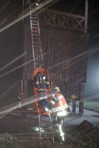 Übung Personenrettung am LIMES-Turm