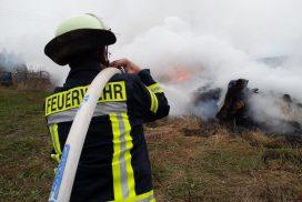 Unwetter in ganz Heidenrod – 100 Feuerwehrkräfte meistern Großübung